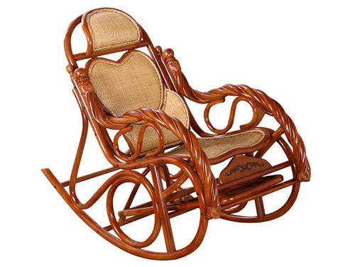 中式藤椅摇椅躺椅拉伸阳台客厅休闲拉伸躺椅睡椅逍遥椅2