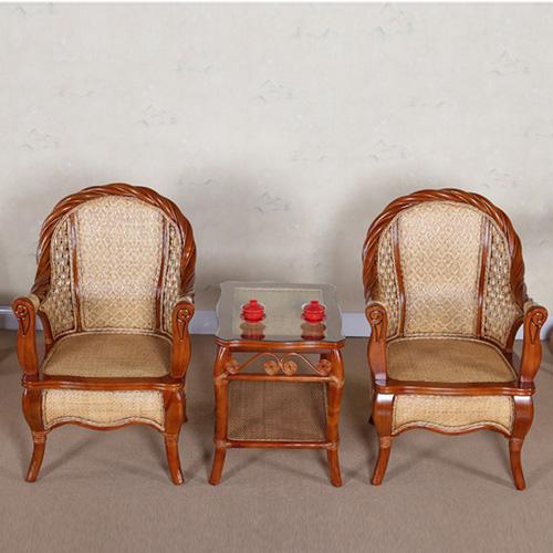 小藤椅三件套 藤编泡茶椅批发亚博app下载苹果版椅子泡茶桌休闲椅子